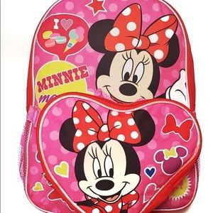 Other - 2 Piece Set Disney Minnie Mouse Backpack Lunch Bag